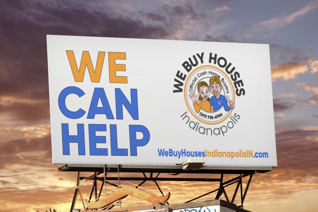 We Buy Houses Indianapolis Billboard
