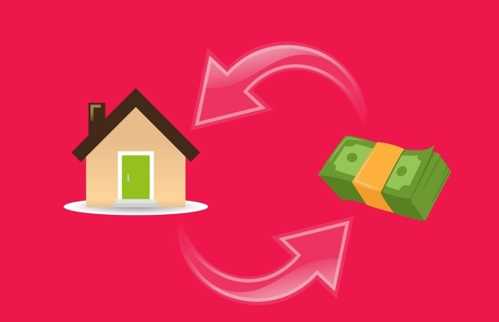 cash for your house instead of a bank
