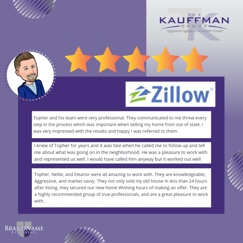The Kauffman Group Zillow Reviews