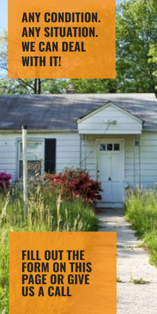 Selling a house in poor condition is easy when you work with us