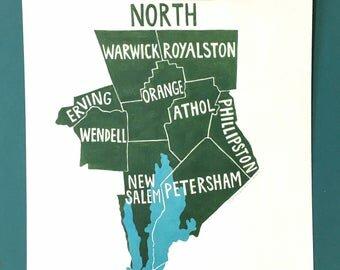 The North Quabbin Region of MA