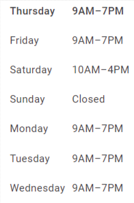 Cash Offer Please Schedule