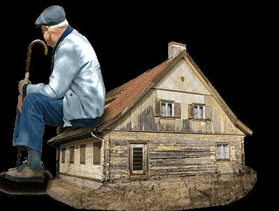we buy old houses Pine Mountain Club ca