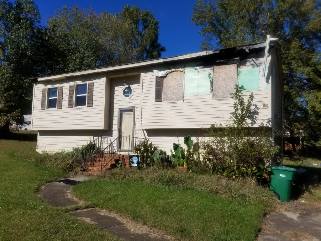 Sell my fire damaged house.