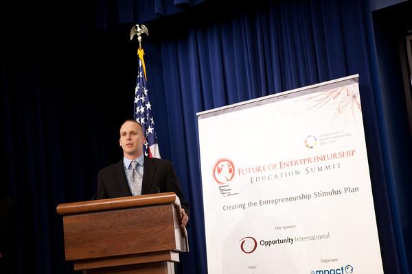 Doug Fath Speaks At White House