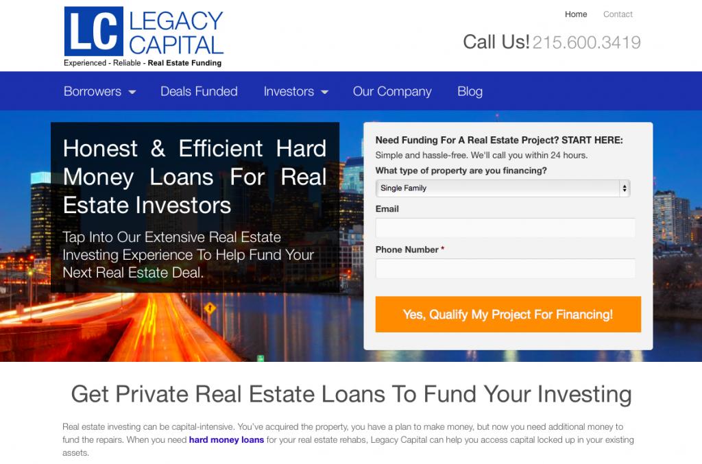 Legacy Website