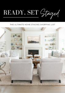 The Ultimate Home Staging Shopping List