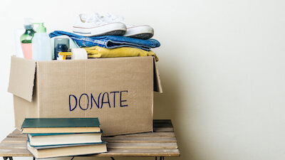 We donate whatever we can