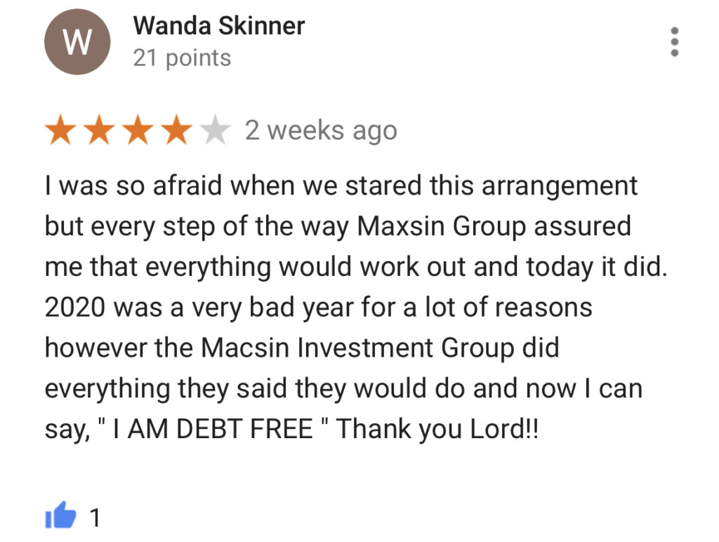 We Buy Houses Google Reviews #2