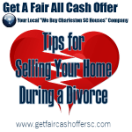Tips for selling a house during a divorce