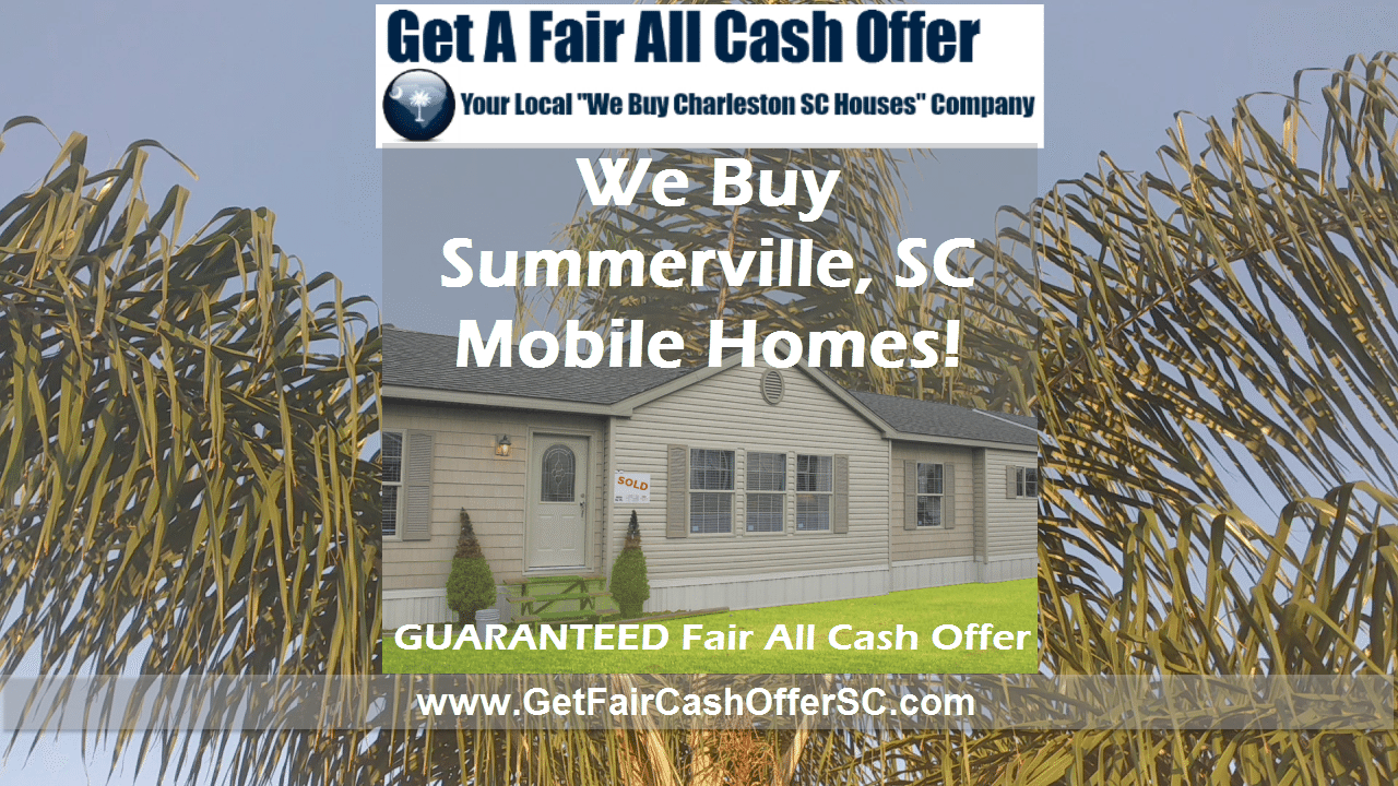 Selling a Mobile in Summerville South Carolina