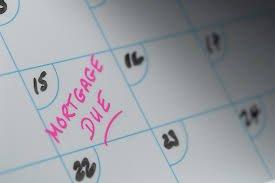 mortgage due calendar