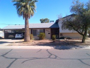 A recent house we purchased from Chuck in Phoenix