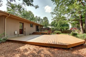 backyard project of NoCo House Buyers Inc