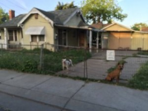 Inherited Stockton Home