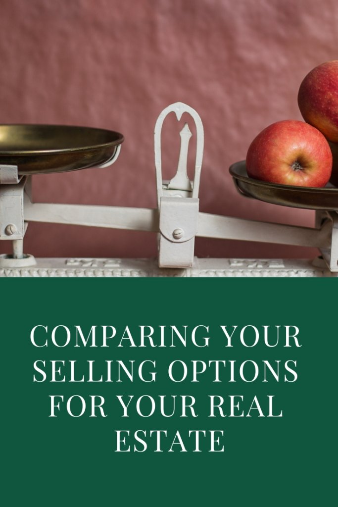 Comparing Your Selling Options For Your Stockton Real Estate