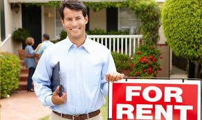 For Rent Sign. Are you tired of being a Landlord in Decatur