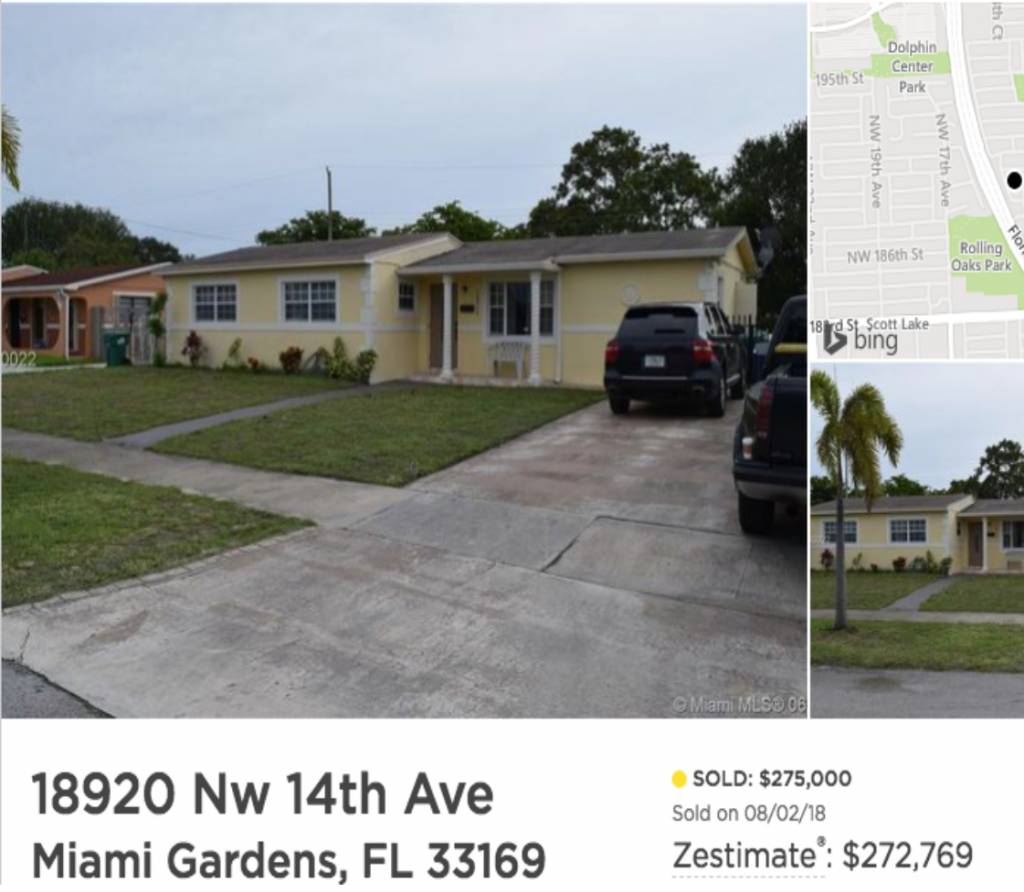 we buy homes miami gardens fl