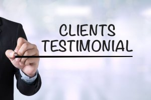 Testimonials are critical for identifying a legitimate cash home buyer.
