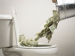 "Don't flush your cash. Sell ""as is"" or make the right repairs."