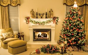 Make sure a house is warm and well lit for a quick winter home sale.