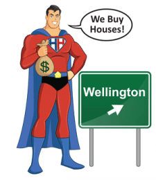 we buy wellington houses