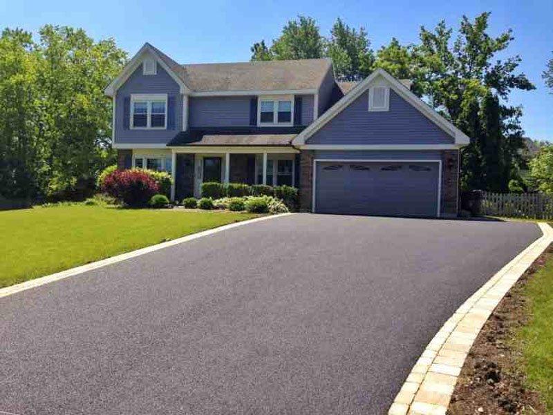 clean driveway