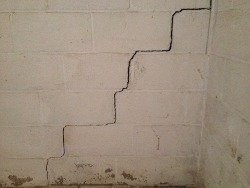 cracked walls