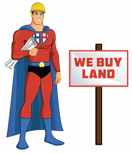 we buy land california