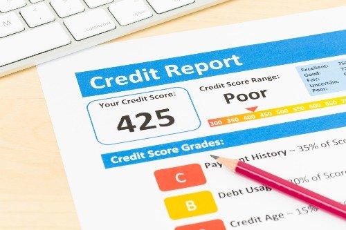report to credit bureau