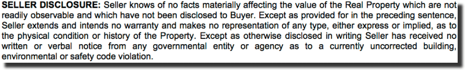 sell-disclosure-requirement