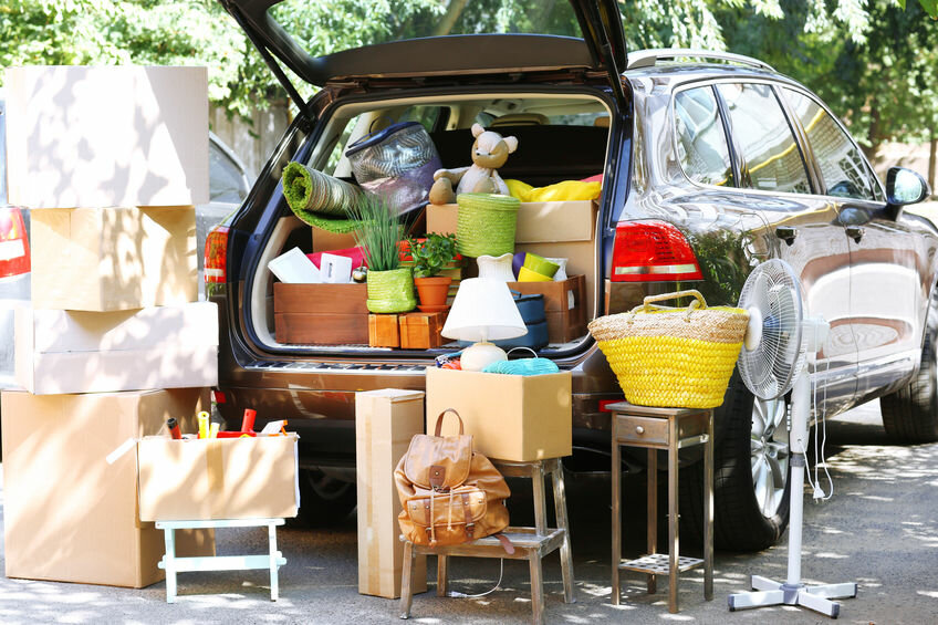 moving your personal belongings