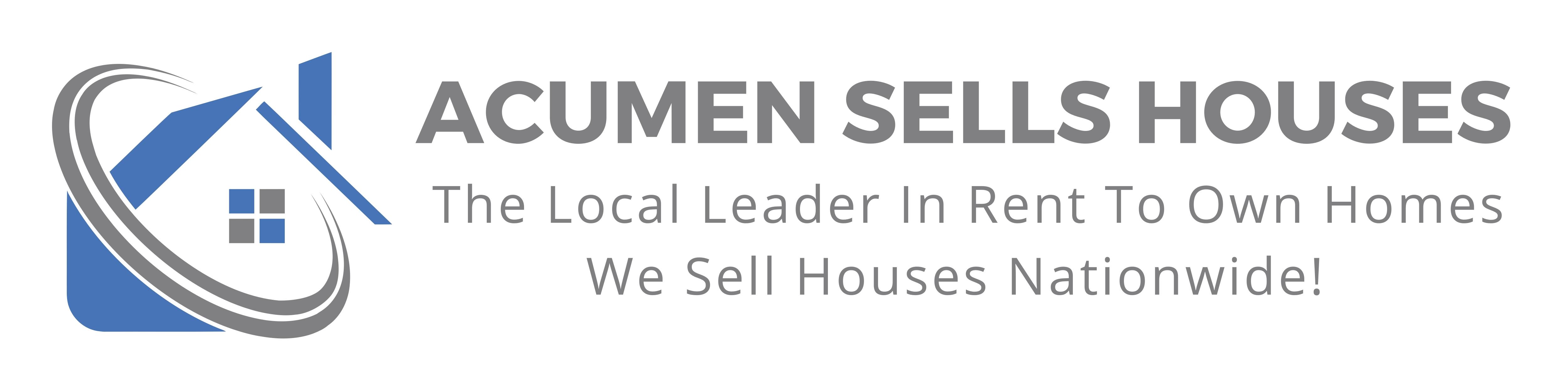 ACUMEN SELLS HOUSES