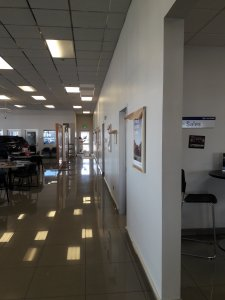 Stockton Hyundai Showroom Interior Painting