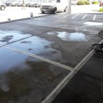 Stockton Hyundai Parking Lot Before