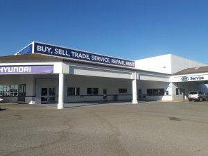 Interior Painting and Parking Lot Striping Stockton Hyundai