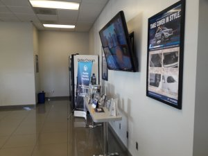 Stockton Hyundai Waiting Room Interior Painting