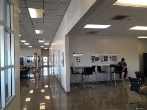 Stockton Hyundai Showroom Interior Painting