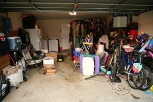 clutter garage