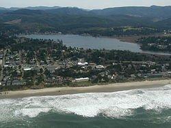 Lakefront house proximity to ocean