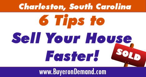 Charleston House Selling Tips