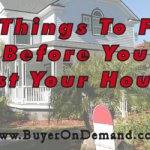 5 Things To Fix Before You List Your House