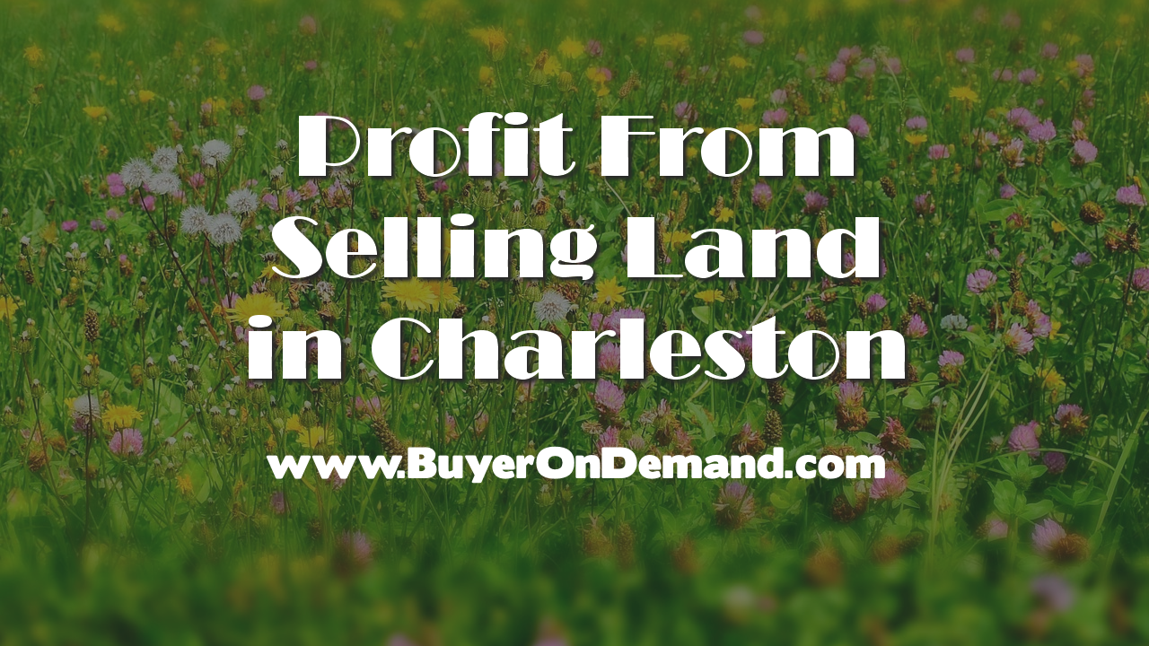 Profit From Selling Land in Charleston