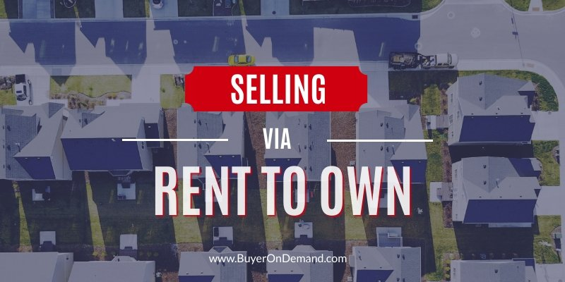 Selling via Rent To Own in Charleston