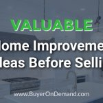 Valuable Home Improvements Before Selling