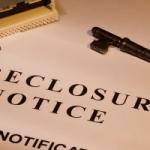 Foreclosure notice of default in North Stamford CT