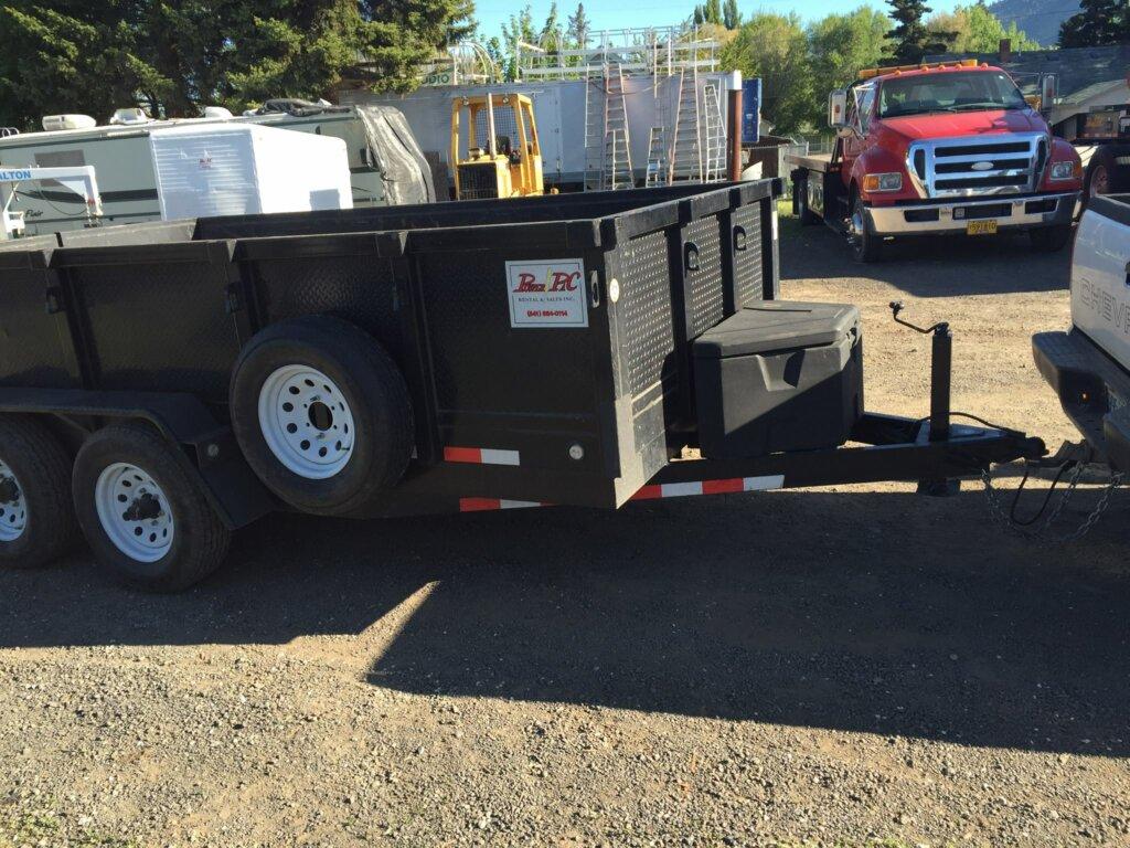 dump trailer rental medford and klamath falls oregon