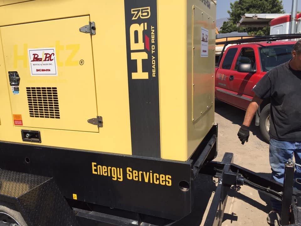generator rental medford and klamath falls oregon