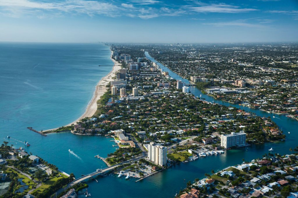 picture-of-pompano-beach-from-sky