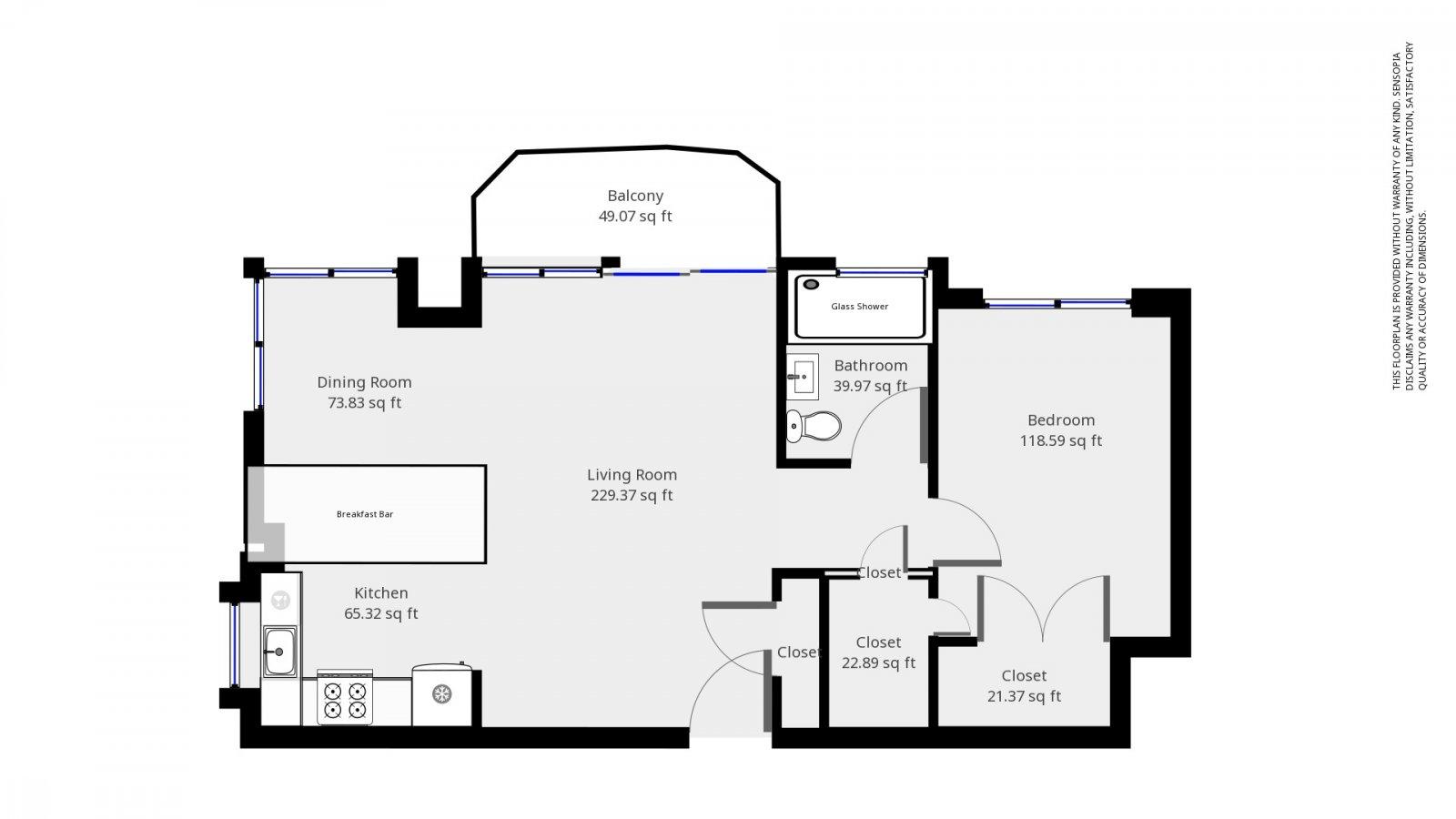 235 W 48th Street Unit 22L